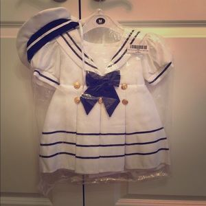 Other - Baby girl sailor dress